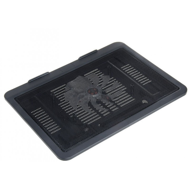 Cooling Fan Ultra Slim And Quiet N19 Black Laptop Cooler