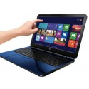 HP 15-r053cl TouchSmart core i3 6GB 750GB 15.4 inch Blue windows 8.1 Genuine