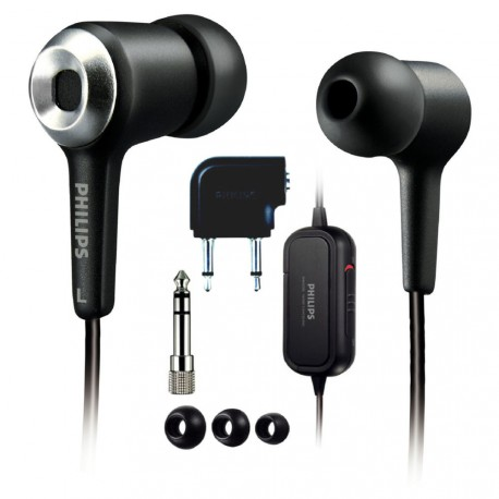 Philips SHN2500/37 Noise-Canceling Earbuds (Discontinued by Manufacturer)