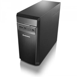 Lenovo H50-00 Desktop Computer - Intel Pentium J2900 quad 2.41 Ghz - Tower - Black, Gray - 4 Gb Ram - 500GB - DOS