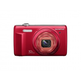 Digital Camera Olympus VR-340 Red 16MP with 10x Optical Zoom