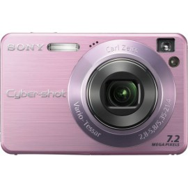 Digital Camera Sony Cybershot DSCW120/P 7.2MP with 4x Optical Zoom with Super Steady Shot (Pink)
