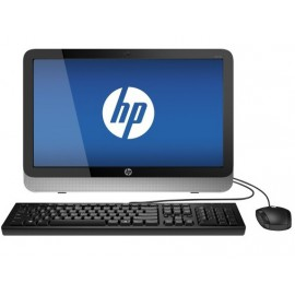 "HP 19.5"" All-In-One 4GB 500GB Win8.1 Genuine Silver/Black"