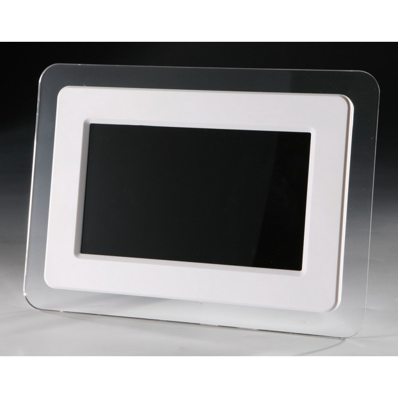 Digital Picture Frame 7 Inch Lcd White