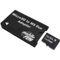 MicroSDHC to Memory Stick Pro Duo
