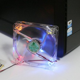 Rear Case Fan 120mm Desktop PC with LEDs