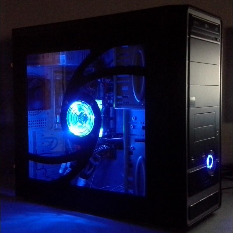 Rear Case Fan 120mm Desktop Pc With Leds