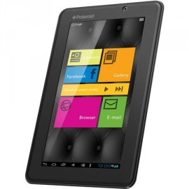 "Polaroid 7"" Tablet Android 4.0 1GHz 512MB 4GB WiFi Black PMID705X Dual camera Capacitive touch"