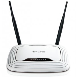 Tp-Link 300Mbps Wireless N Router TL-WR841N + 4 Ports Switch