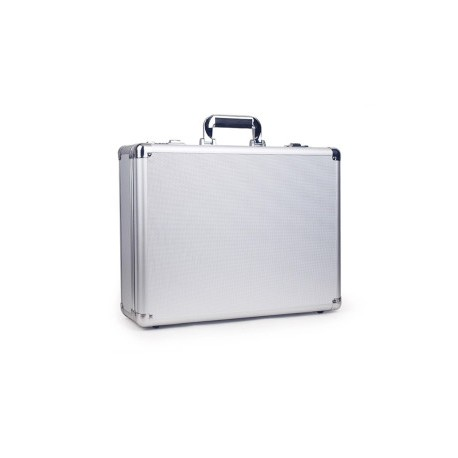 Aluminum Laptop Tablet Security Travel Macbook Briefcase Combination Lock Silver