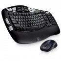 Refurbished Logitech Wireless Wave Combo Mk550 with Keyboard and Laser Mouse