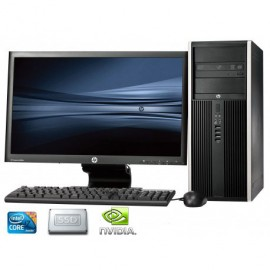 Hp Desktop Elite 8300 Desktop Computer Core i7 24 GB memory 1TB Hard drive +256GB SSD GTX650 DDR5