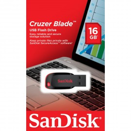 USB Flash Drive 16GB Sandisk Cruzer Blade