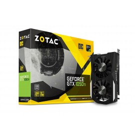 ZOTAC GeForce GTX 1050 Ti OC Edition 4GB GDDR5 Super Compact Gaming Graphics Card (ZT-P10510B-10L)