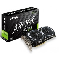 MSI Gaming GeForce GTX 1070 8GB GDDR5 SLI DirectX 12 VR Ready Graphics Card (GTX 1070 ARMOR 8G OC)