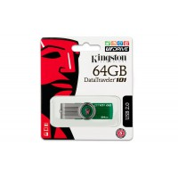 USB Flash Drive 64GB  Kingston Digital DataTraveler 101 G2  Green