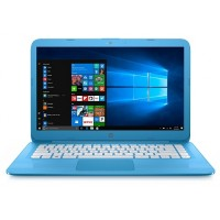"HP Stream 14-AX010 Celeron® Dual-Core N3060 1.6GHz 32GB  4GB 14""  BT WIN10 Webcam HORIZON BLUE"