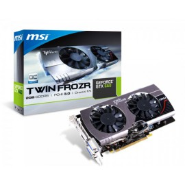 MSI TWIN FROZER GTX660 2GB DDR5 - 912-V287-055