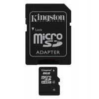 8GB Kingston Micro SD HC - Class 4