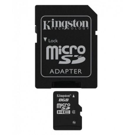 8GB Kingston Micro SD HC - Class 4