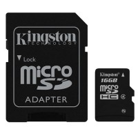 16GB Micro SD Class 4 Kingston