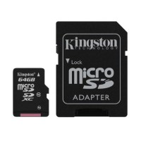Micro SD Class 10 64GB Kingston memory card