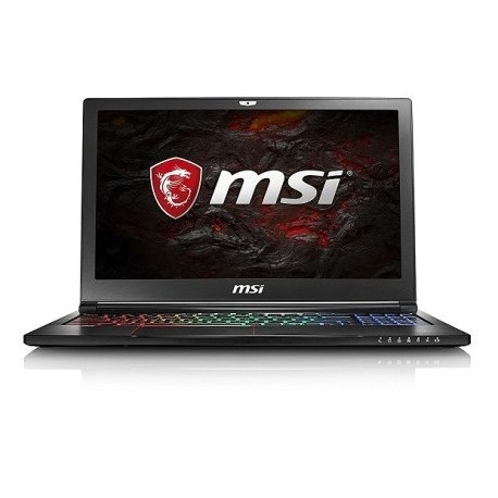 "MSI GS63 STEALTH PRO Core™ i7-6700HQ 2.6GHz 1TB+128GB SSD 16GB 15.6""WIN10  NVIDIA® GTX 1060 6144MB"