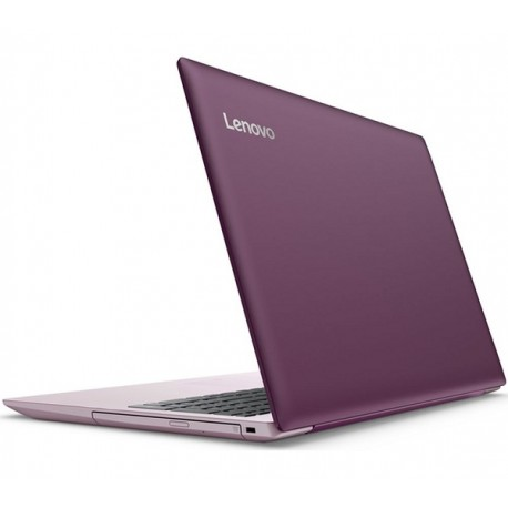 Lenovo ideapad 320 15.6 Laptop, Windows 10, Intel N3350 Processor, 4GB , 1TB– Purple