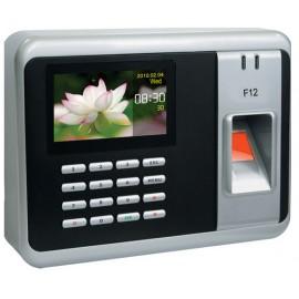 Fingerprint Time Attendance Machine ,F12 Color Screen RFID