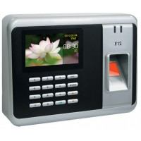 Fingerprint Time Attendance Machine ,F12 Color Screen RFID