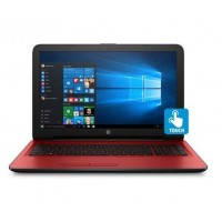 "HP 15-BA013 TOUCHSMART AMD Quad-Core A6-7310 2.0GHz 2TB 4GB 15.6"" TOUCHSCREEN DVD-RW BT WIN10 CARDINAL RED"