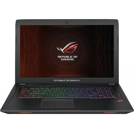"Asus ROG GL753VE Gaming Core™ i7-7700HQ 2.8GHz 1TB+128GB SSD 16GB 17.3"" (1920x1080) DVD-RW  WIN10  NVIDIA® GTX 1050Ti 4096MB"