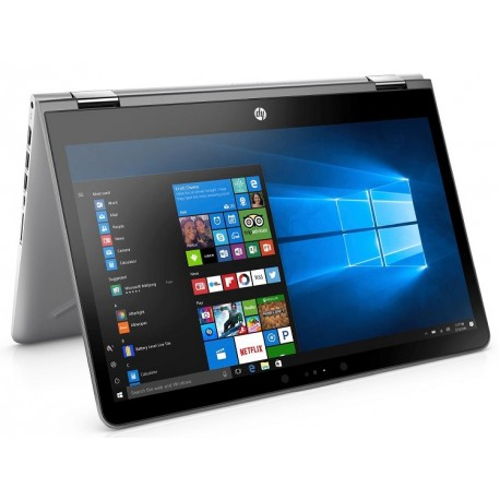 "HP 14"" Touch-Screen Laptop Intel Core i3 8GB Memory 500GB Hard Drive HP finish in natural silver"