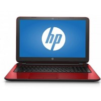 "HP Flyer Red 15.6"" 15-f272wm Laptop PC with Intel Pentium N3540 Processor, 4GB Memory, 500GB Hard Drive and Windows 10 Home"
