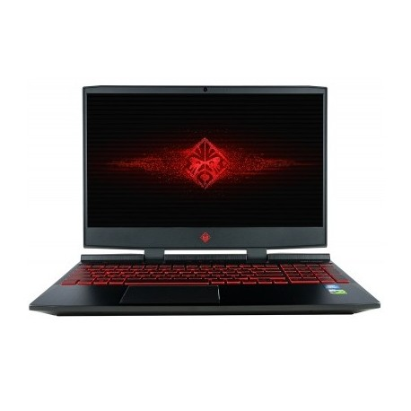 HP Omen 15.6 Inch Gaming Laptop, i7-8750H Processor, GeForce GTX 1050,,16GB  RAM, 1TB HDD & 256GB PCIE SSD, Windows 10