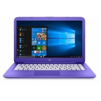 HP Stream 14-ax002na 14-inch HD Laptop Violet Purple Intel Celeron N3060, 4GB RAM, 32GB eMMC,, Intel HD Graphics, Windows 10