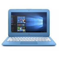 """HP Stream 11-AH110 Celeron® Dual-Core N4000 1.1GHz 32GB eMMC 4GB 11.6"""" (1366x768) BT WIN10 Webcam AQUA BLUE"""