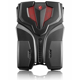 MSI VR ONE 6RE-006US BACKPACK Core™ i7-6820HK 2.7GHz 512GB SSD 16GB BT WIN10 Pro VR Ready NVIDIA® GTX 1070 8192MB BLACK