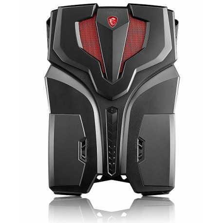 MSI VR ONE 6RE-006US BACKPACK Core™ i7-6820HK 2.7GHz 512GB SSD 16GB BT WIN10 Pro VR Ready NVIDIA® GTX 1070 8192MB BLACK