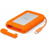 LaCie Rugged 1TB Thunderbolt and USB 3.0 Portable Hard Drive
