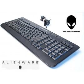 Genuine Dell Alienware Multimedia Slim USB Keyboard SK-8165 - 40CM0