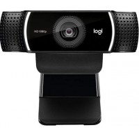 Logitech C922 Pro Stream Webcam 1080P Camera for HD Video Streaming & Recording 720P at 60Fps with Tripod Included.