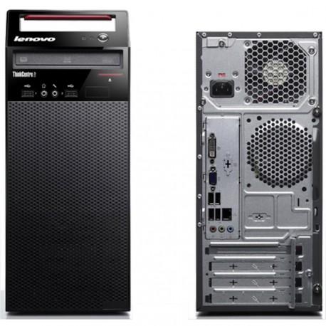 Lenovo ThinkCentre E73 Intel Core i7-4770S Processor (3.1 GHz, 8M Cache), 4 GB, 1 TB 7200 RPM, DOS.