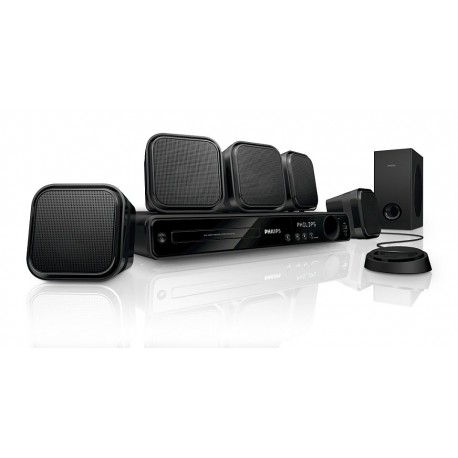 Philips 5.1 DVD Home Theater w/ 1080p HDMI Upconversion & iPod Dock - HTS3371D/F7