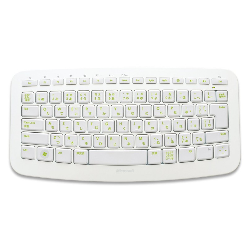 Wireless Keyboard For Pc And Xbox 360 Microsoft Arc White
