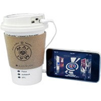 Mai Coffee Cup Speaker for iPod, iPhone and MP3 Players