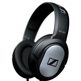 Sennheiser HD201 Closed Dynamic Stereo headphones (No Retail Packaging)(OEM)