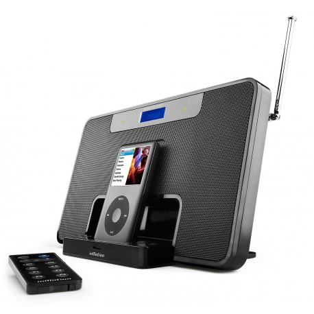 Altec Lansing inMotion iM600 USB-Charging Portable Speaker System with FM Receiver for iPod (Black)