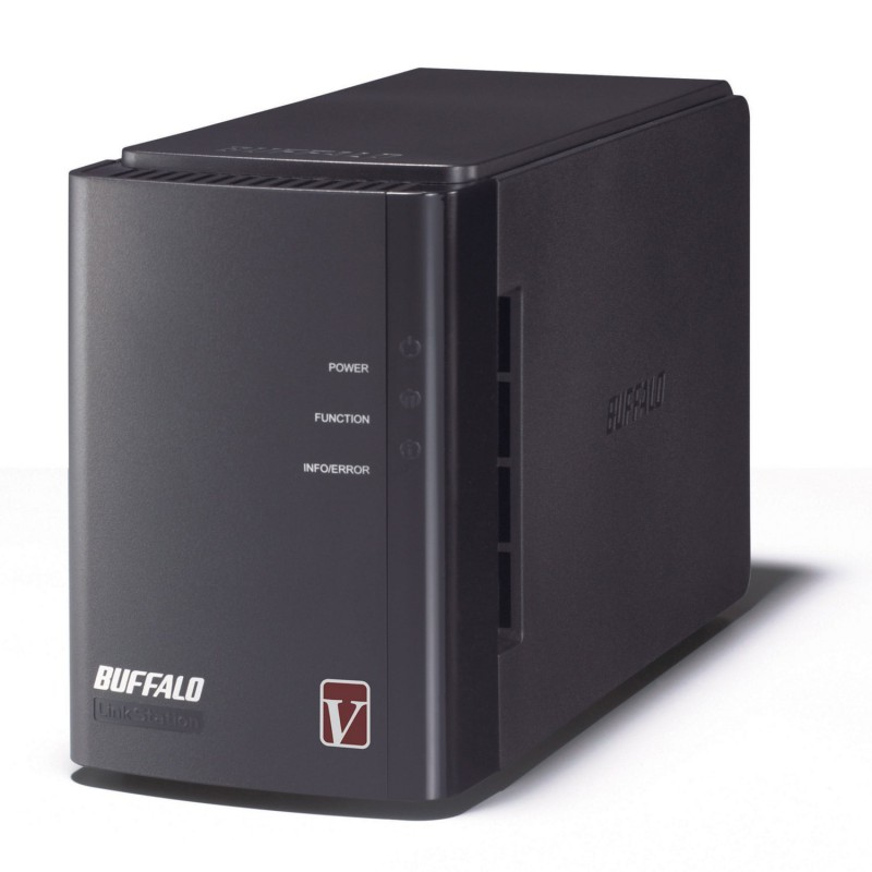 Network Attached Storage BUFFALO LinkStation Pro Duo 2-Bay Diskless Enclosure (NAS)