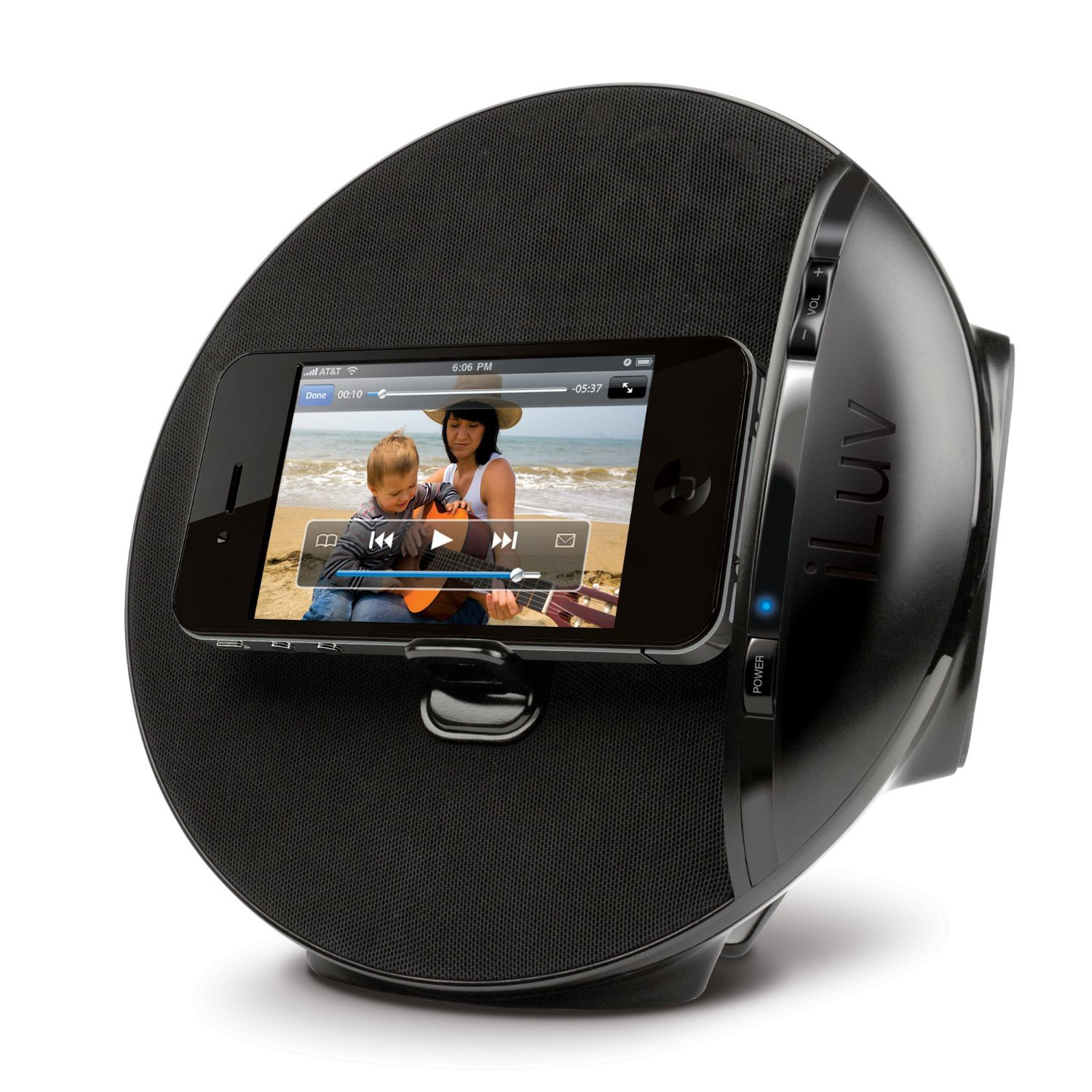 Iluv Isp200blk Stereo Speakers For Mac